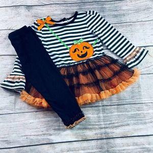 Nannette Kids 2T Halloween Tunic&Legging